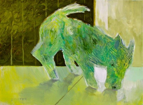 dogs Terrier 18x24